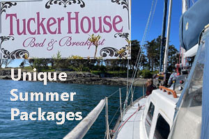Harrison House and Tucker House summer packages