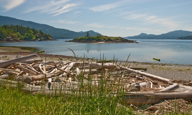 Bay at Eastsound on Orcas Island in the San Juans