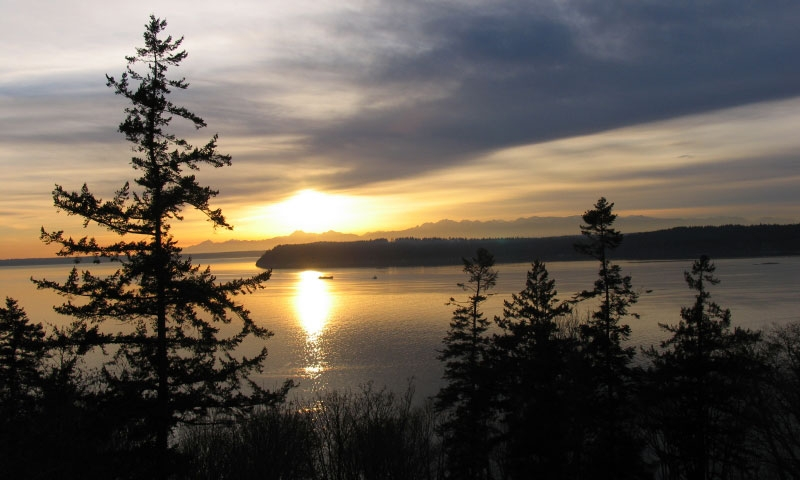 The Puget Sound from Whidbey Island