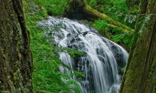 Cascade Falls Orcas Island Washington