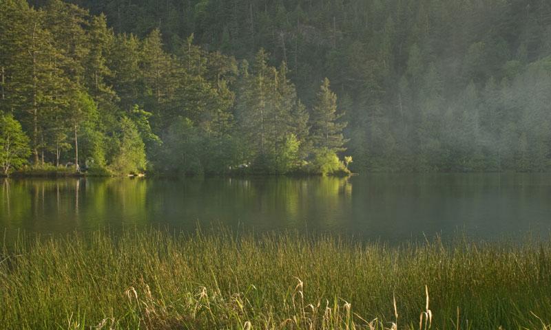 Cascade Lake Orcas Island Washington Fishing Camping