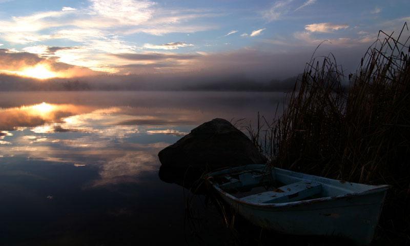 Hummel Lake Lopez Island Washington
