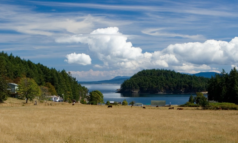 Stuart Island is part of the San Juan Island Chain