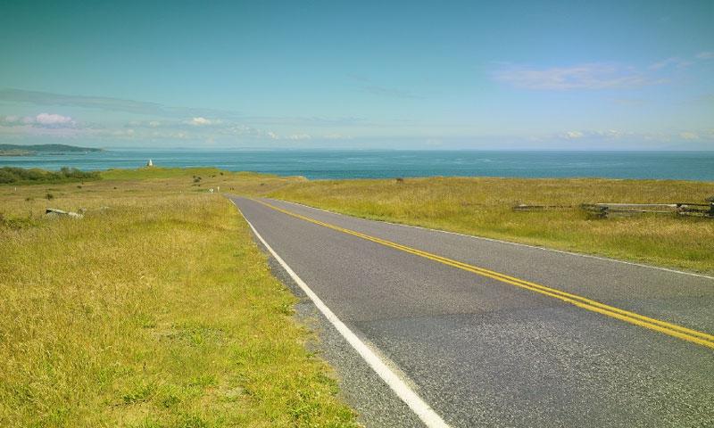 Scenic Drive on San Juan Island