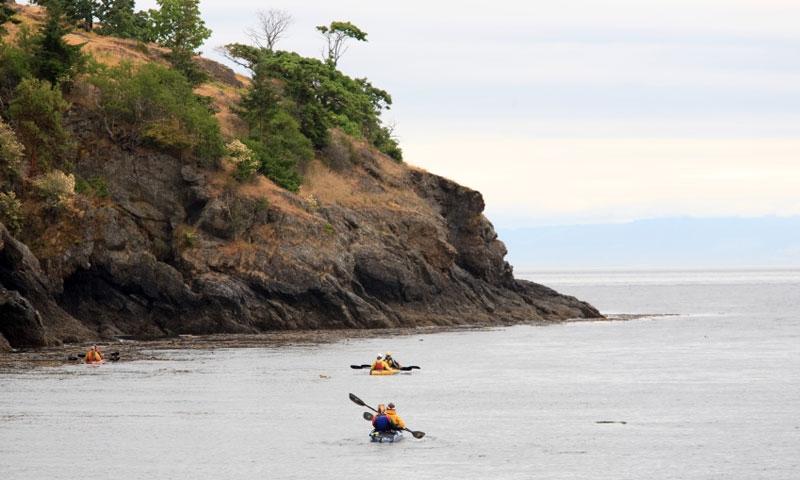 Kayaking in Puget Sound